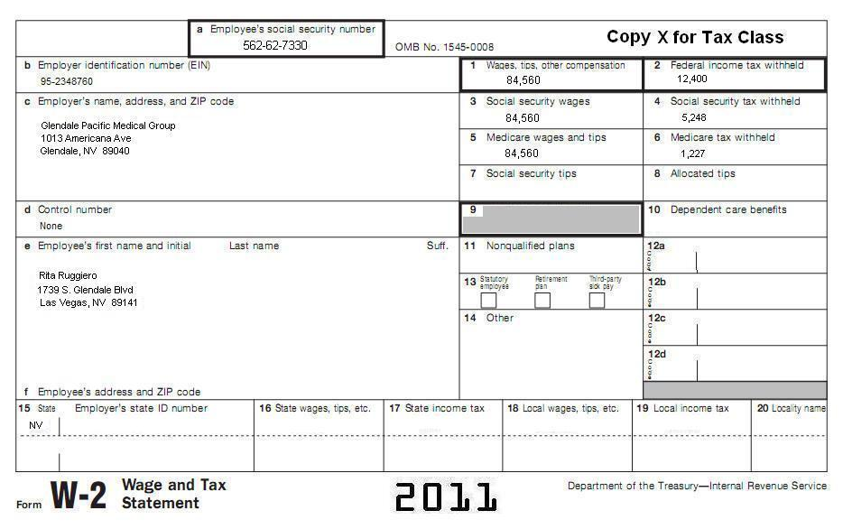 Tax Segment 1 Filing A Federal Tax Return