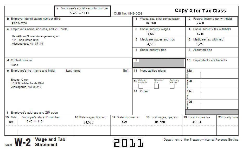 11 Tax Topic 25