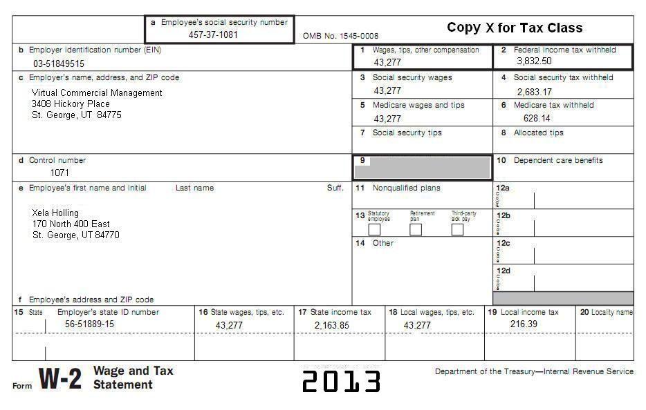14 Tax Topic 15