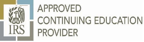 IRS Approved Education Provider logo