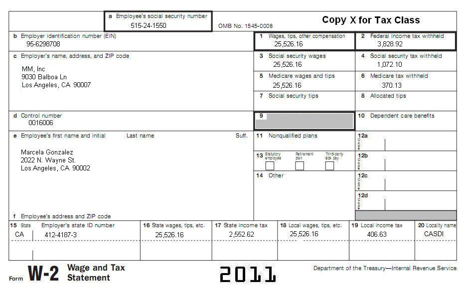 Tax Segment I-8 - California Itemized Deductions