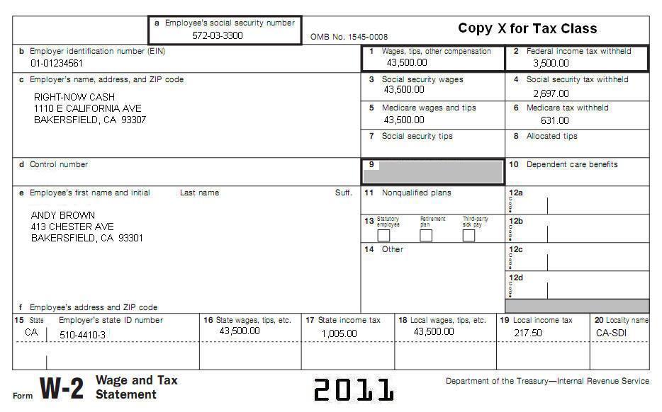 11 Tax Topic CA 5