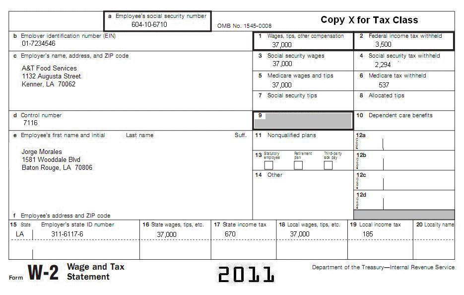 w2 form single no dependents  13 Tax Topic 13